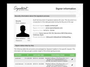 documento probatorio firma electronica software conektia